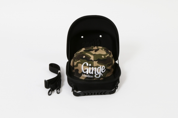Cap Carry Case With Camouflage Strapback