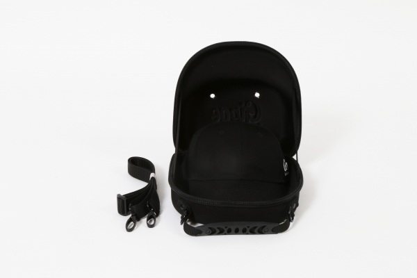 Cap Carry Case With Black Baseball Cap