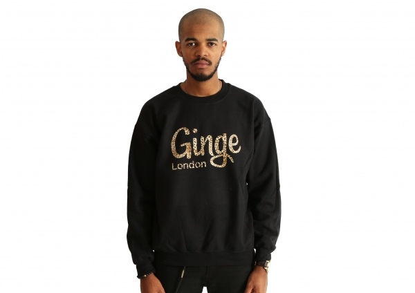 Ginge London Leopard Print Sweatshirt