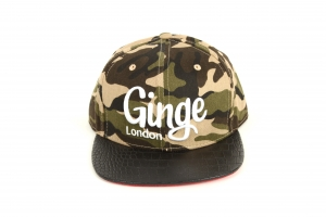 Ginge London Camouflage Strapback