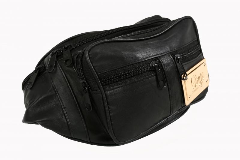 Ginge London Gold Plaque Bum Bag