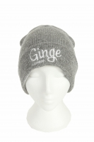 Ginge London 2 in 1 Heather Grey Beanie