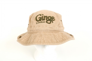 Ginge London Khaki Bucket Hat