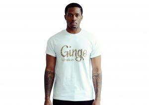 Ginge London Leopard Print T-shirt (White)
