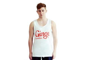 Ginge London Summer Vest in White