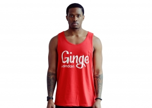 Ginge London Summer Vest - Red