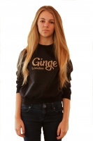 Ginge London Kids Leopard Print Sweatshirt