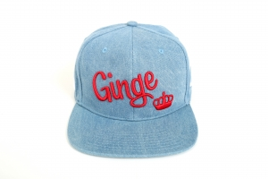 Ginge London All Over Denim strapback