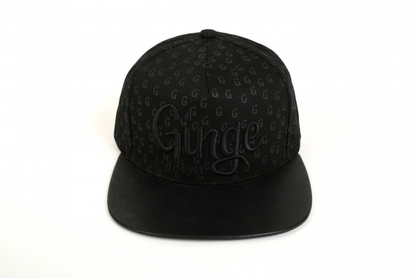 Ginge London All Black Strapback