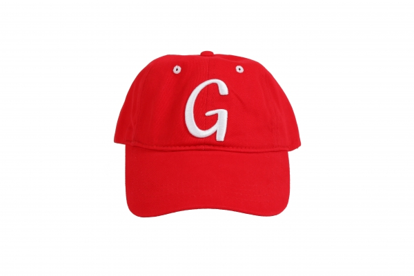 Ginge London Red Baseball Cap