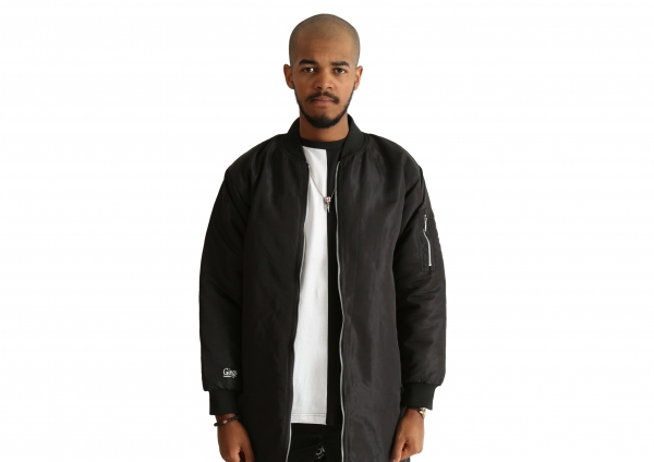 Ginge London Monochrome Bomber Jacket