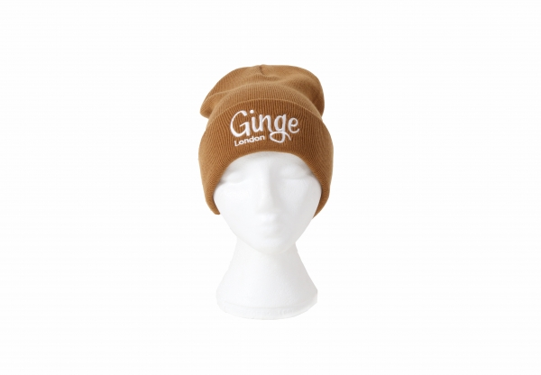 Ginge London Caramel Beanie