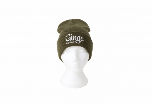 Ginge London Khaki Beanie