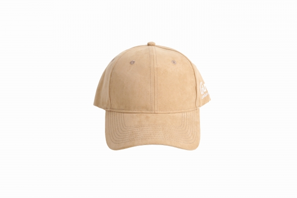 Ginge London Beige Suede Baseball Cap