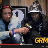 Poet talking to A$AP Rocky on BBC Radio 1