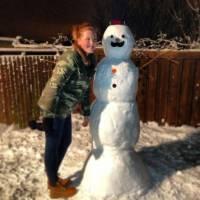 Ginge Snowman!