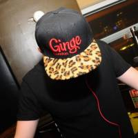 Dj Ginge with he's Ginge London Hat
