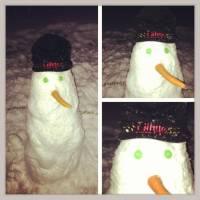 Ginge Snowman